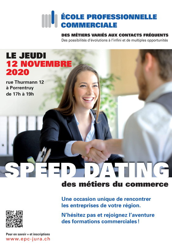 Speed dating - novembre 2020
